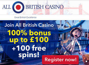 all british casino promo code